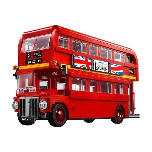 10258 London Bus Printed Part Set