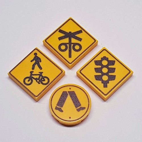 Road Signs - Crossings