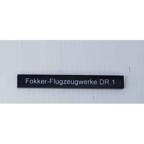 Text Tile - Fokker-Flugzeugwerke DR.1