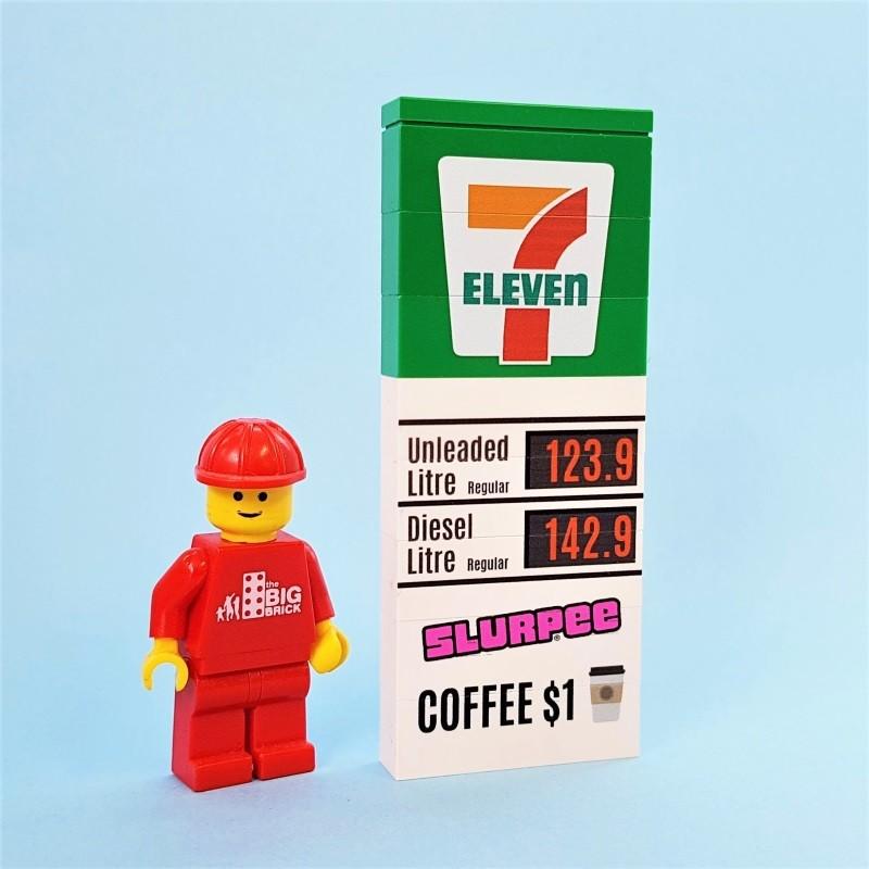 Service Station Sign - 7 Eleven
