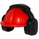 Helmet with Ear Muffs