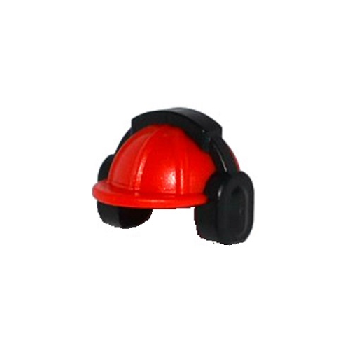 Helmet with Ear Muffs