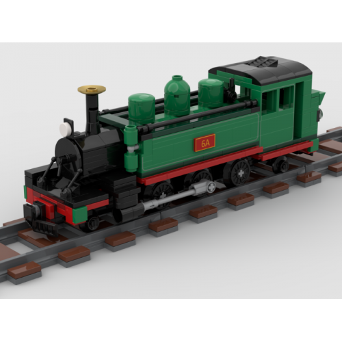 Puffing Billy Narrow Gauge Locomotive